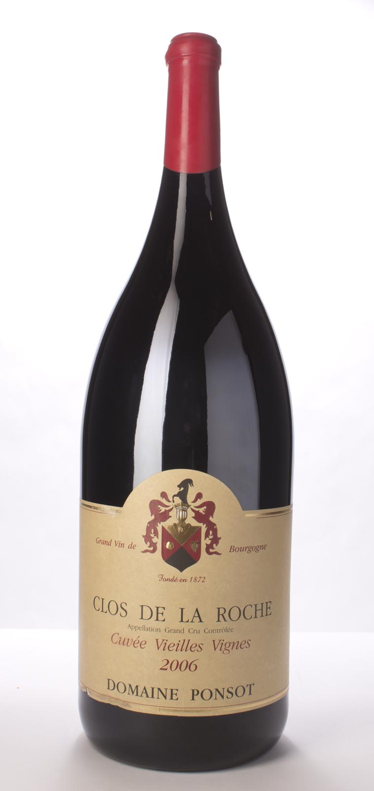 Domaine Ponsot Clos de la Roche Vieilles Vignes 2006, 6L (BH93-96, ST93-96) from The BPW - Merchants of rare and fine wines.