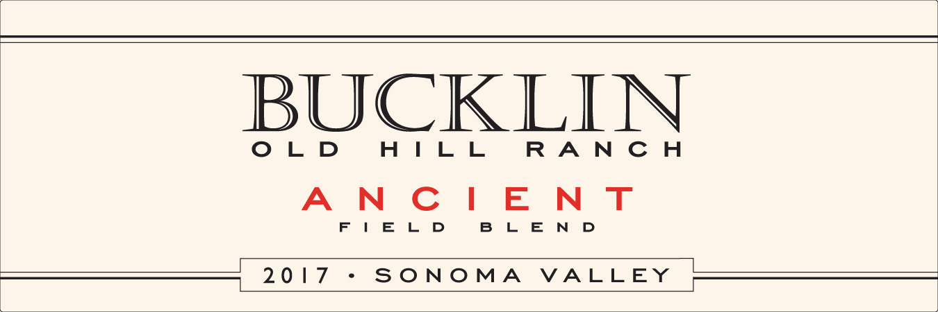 2017 Ancient Field Blend Old Hill Ranch - Bucklin Old Hill Ranch