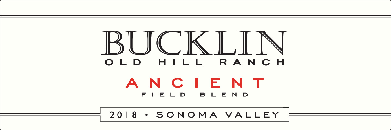 2018 Ancient Field Blend Old Hill Ranch - Bucklin Old Hill Ranch
