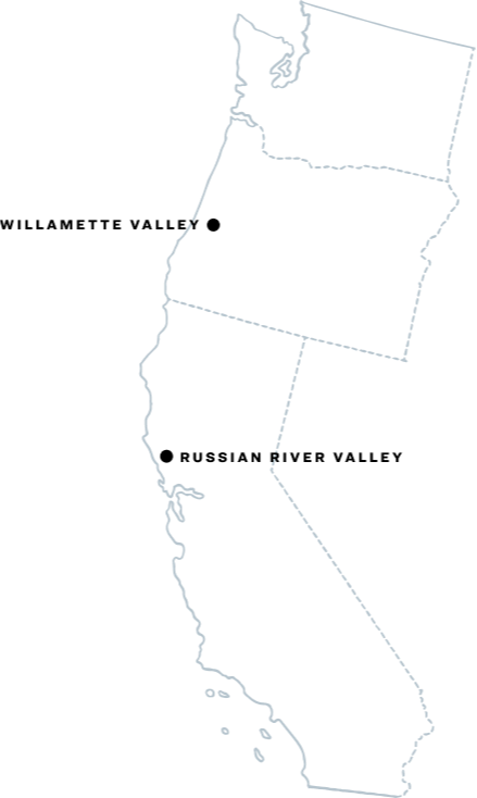 Map of Russian River Valley Location