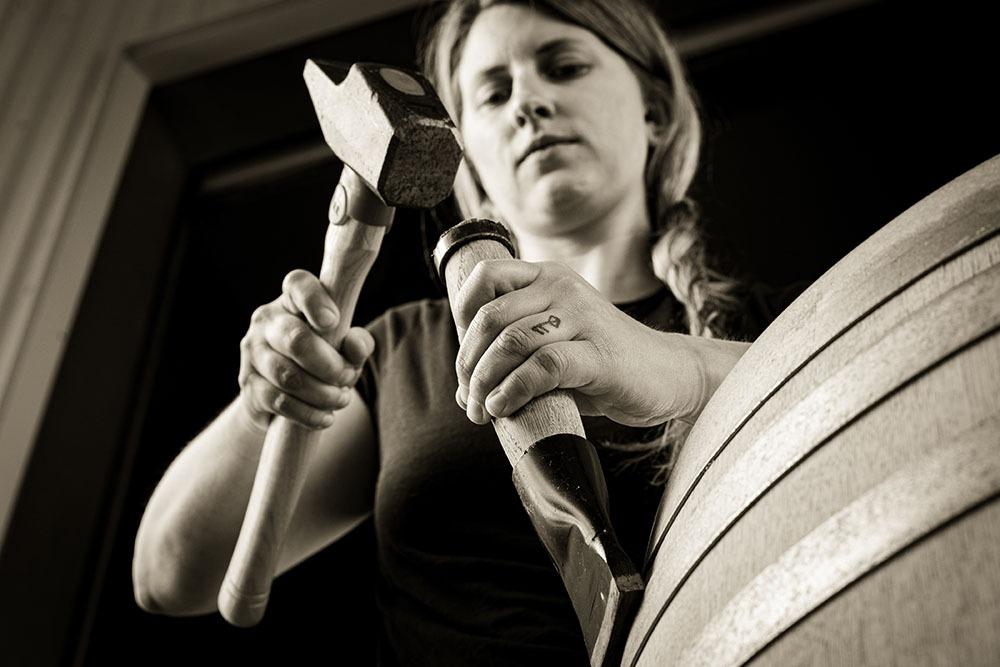 Erica Stancliff Hammering Barrels