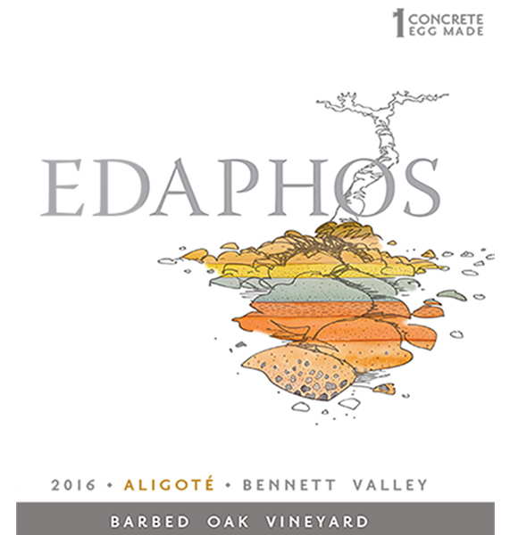 Aligoté 2016 Barbed Oak Vineyard - Ernest Vineyards