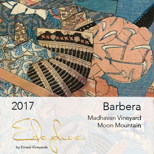 Barbera 2017  Madhavan Vineyard - Ernest Vineyards