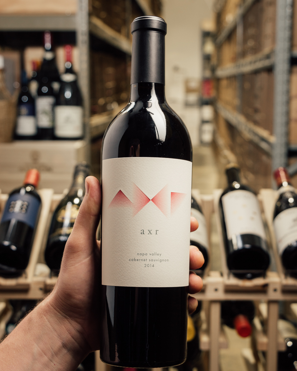 AXR Cabernet Sauvignon Napa Valley 2014  - First Bottle
