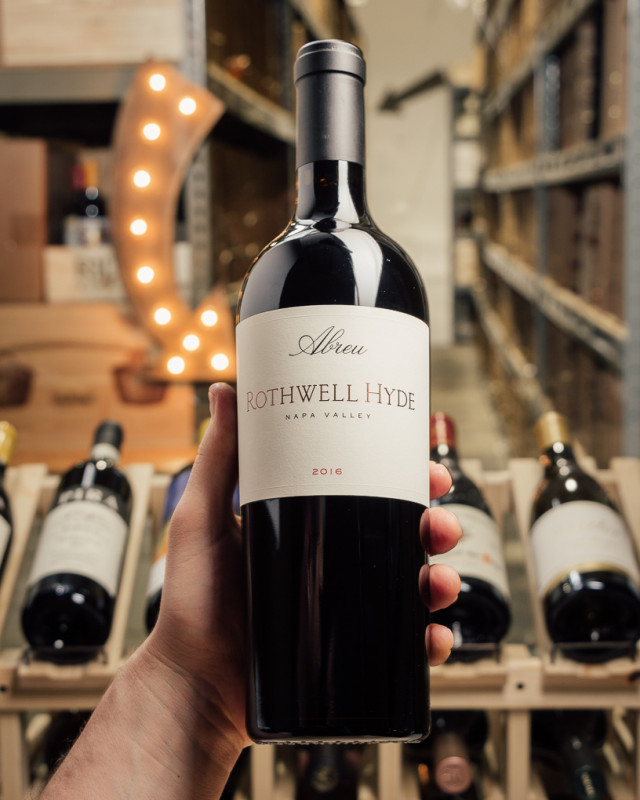 Abreu Cabernet Sauvignon Rothwell Hyde 2016  - First Bottle
