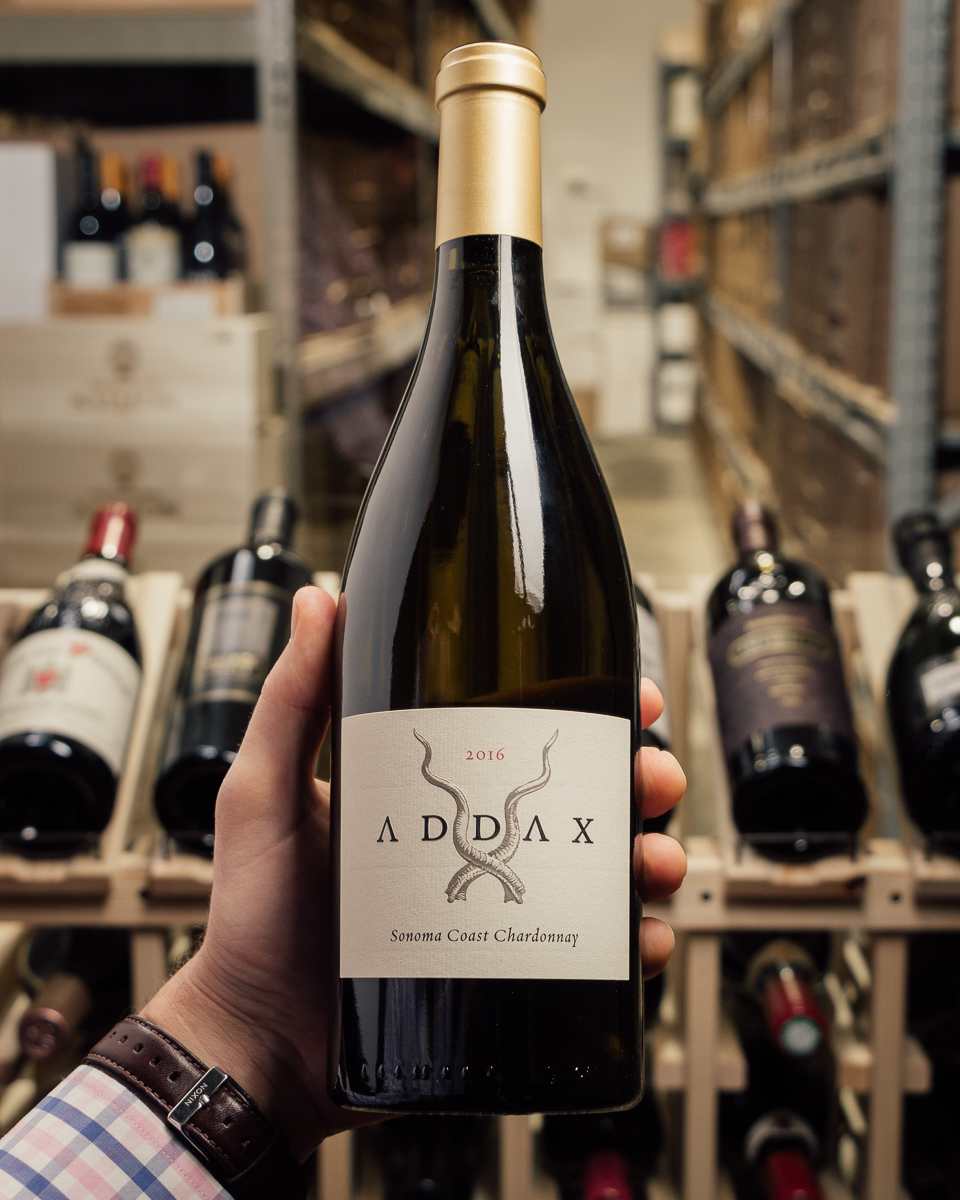 Addax Chardonnay Sonoma Coast 2016  - First Bottle