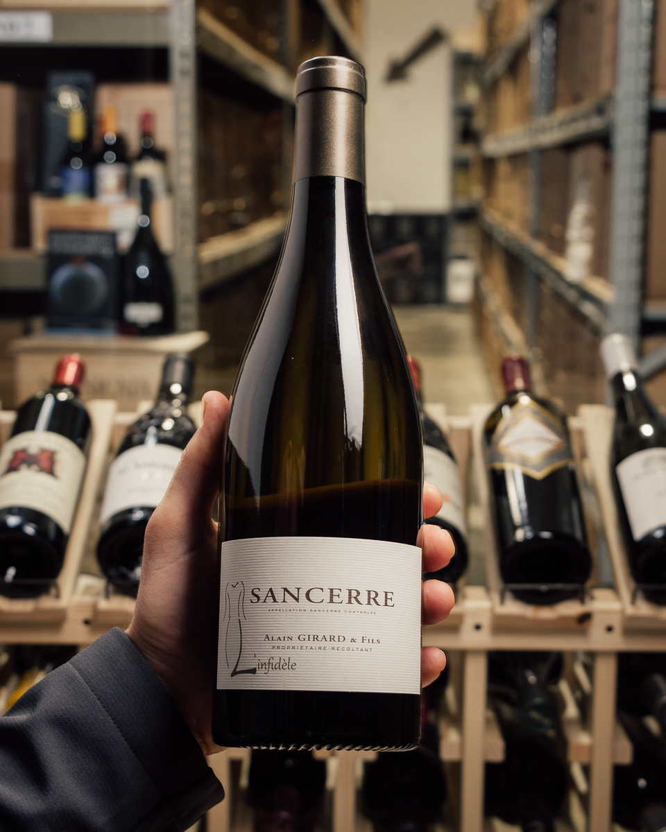 Alain Girard Domaine Des Brosses Sancerre Blanc L'infidele 2017  - First Bottle