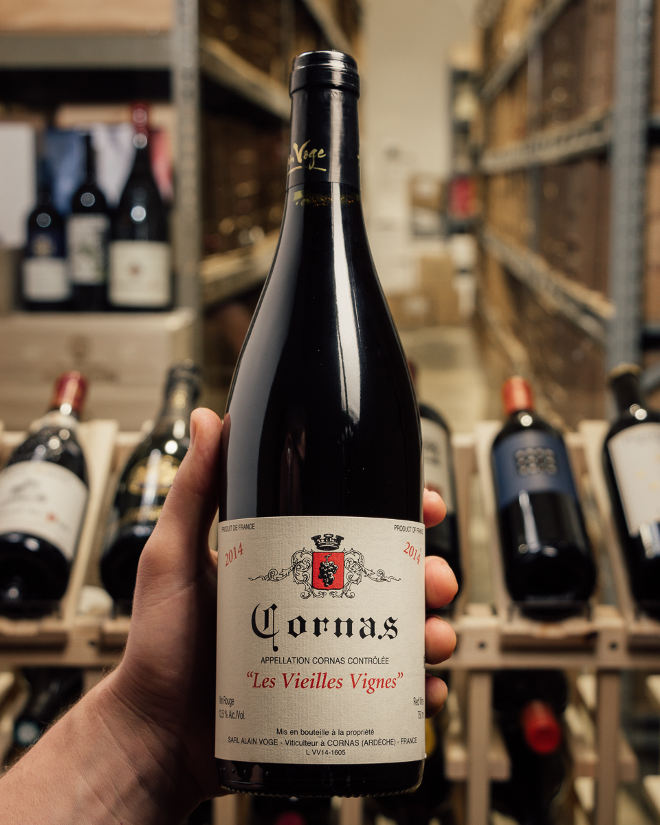 Alain Voge Cornas Vieilles Vignes 2014  - First Bottle