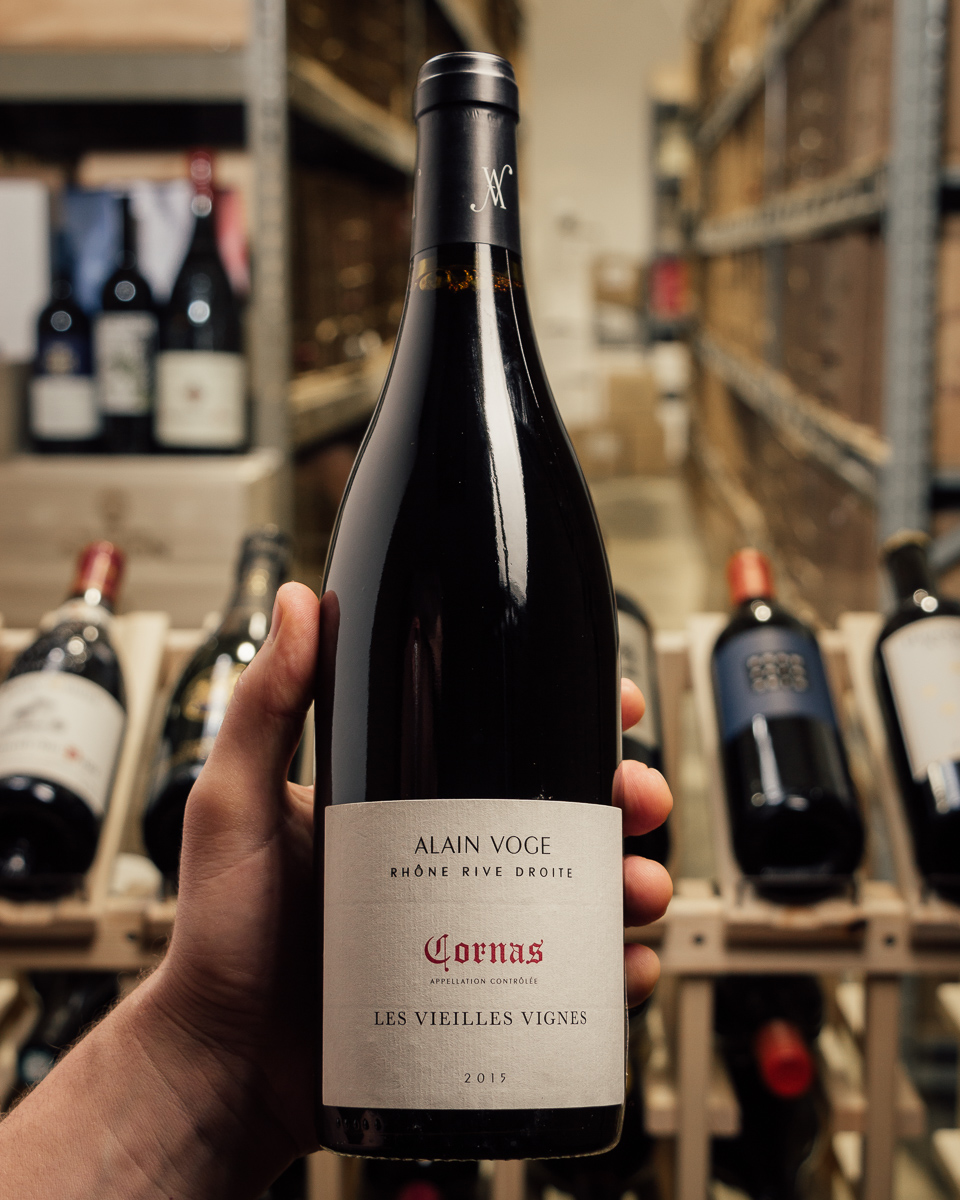 Alain Voge Cornas Vieilles Vignes 2015  - First Bottle