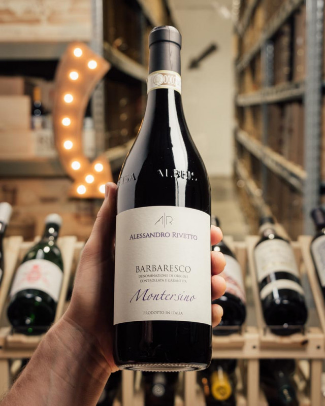 Alessandro Rivetto Barbaresco Montersino 2017  - First Bottle