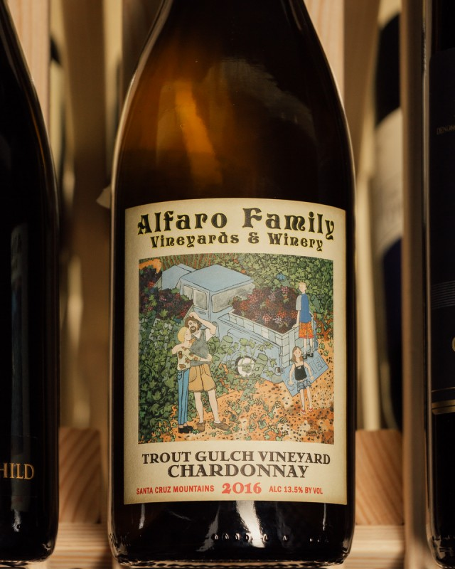 Alfaro Family Chardonnay Trout Gulch Vineyard 2016