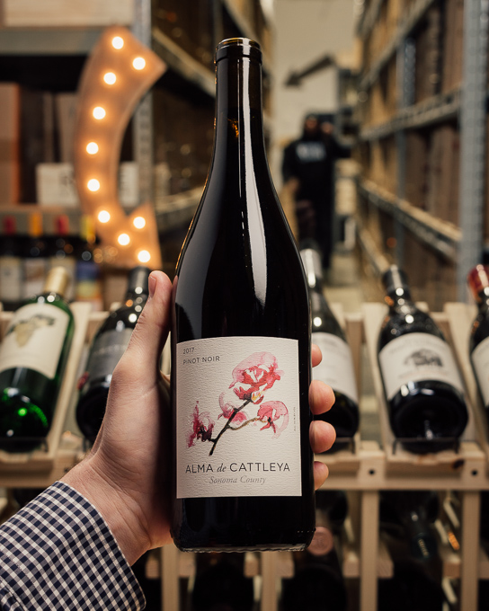 Alma de Cattleya Pinot Noir Sonoma 2017  - First Bottle