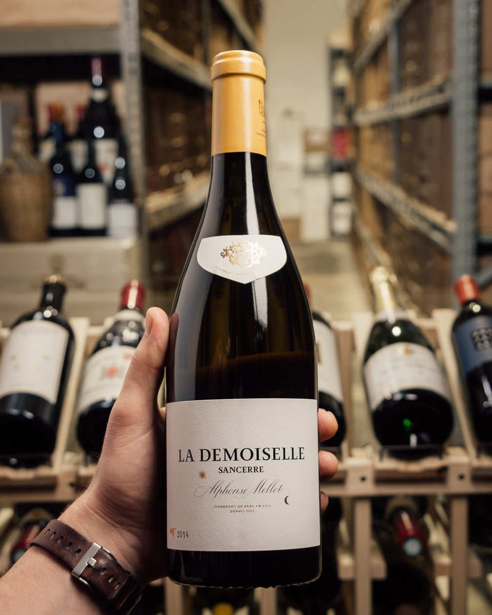 Alphonse Mellot Sancerre La Demoiselle Blanc 2014  - First Bottle