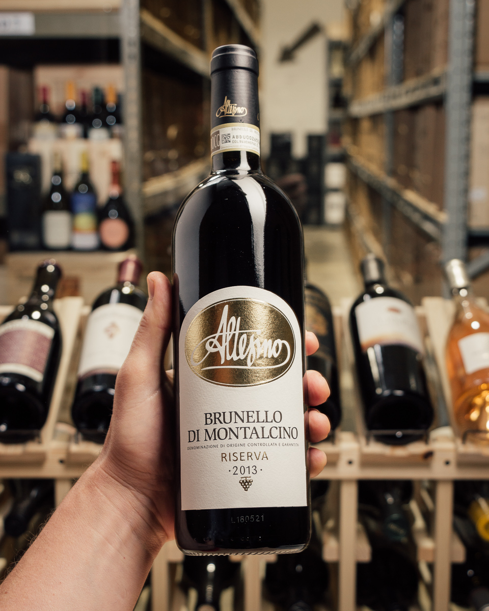 Altesino Brunello di Montalcino Riserva 2013  - First Bottle