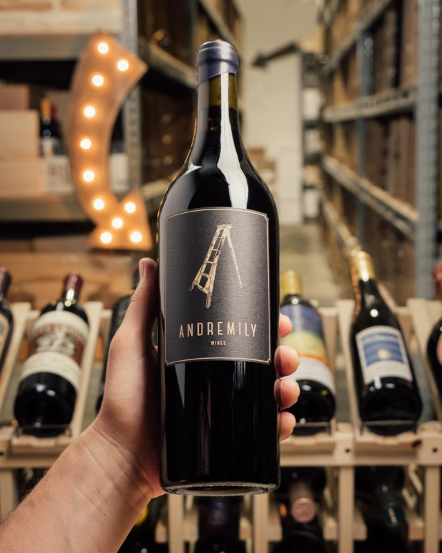 Andremily No. 6 Syrah 2017  - First Bottle