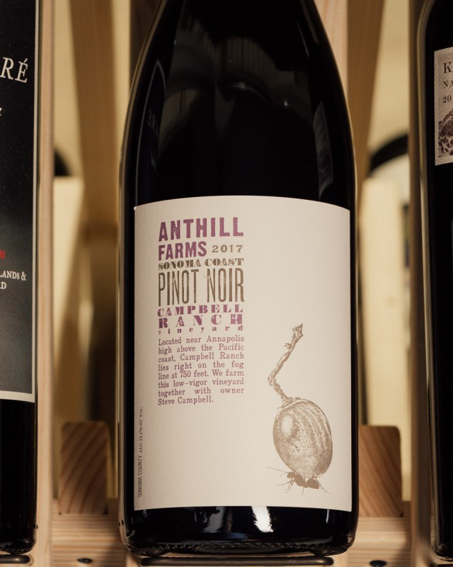 Anthill Farms Pinot Noir Campbell Ranch 2017