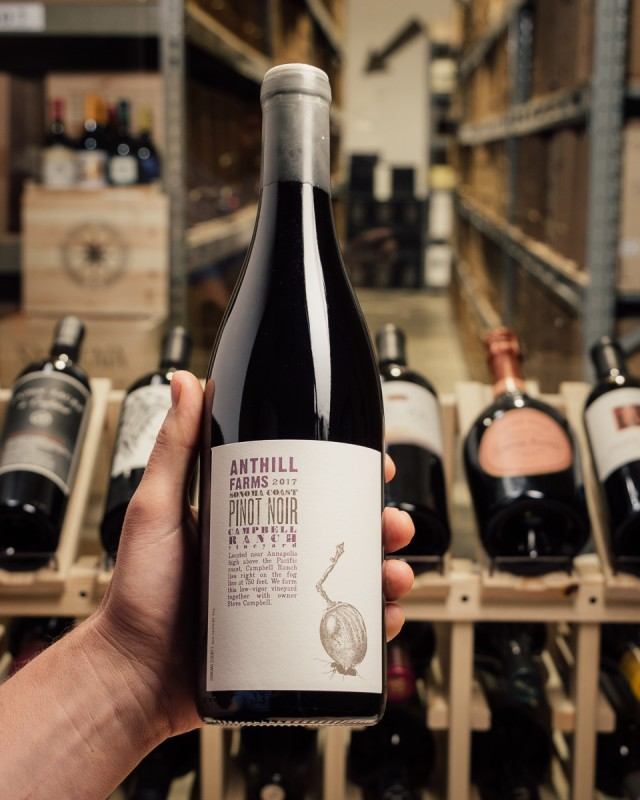 Anthill Farms Pinot Noir Campbell Ranch 2017  - First Bottle