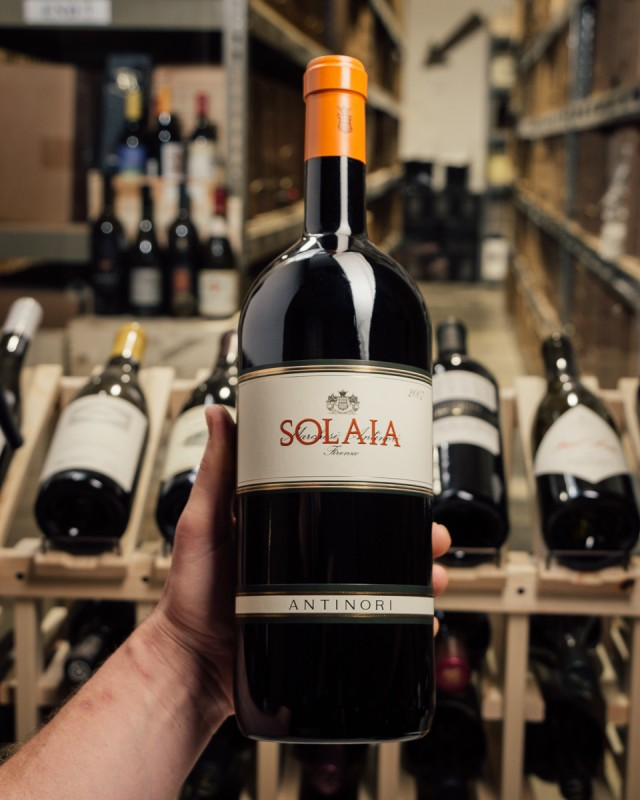 Antinori Solaia 2007 (Magnum 1.5L)  - First Bottle