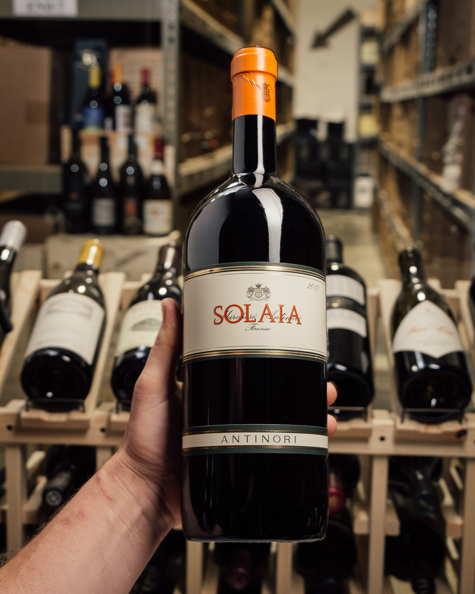 Antinori Solaia 2013 (Magnum 1.5L)  - First Bottle