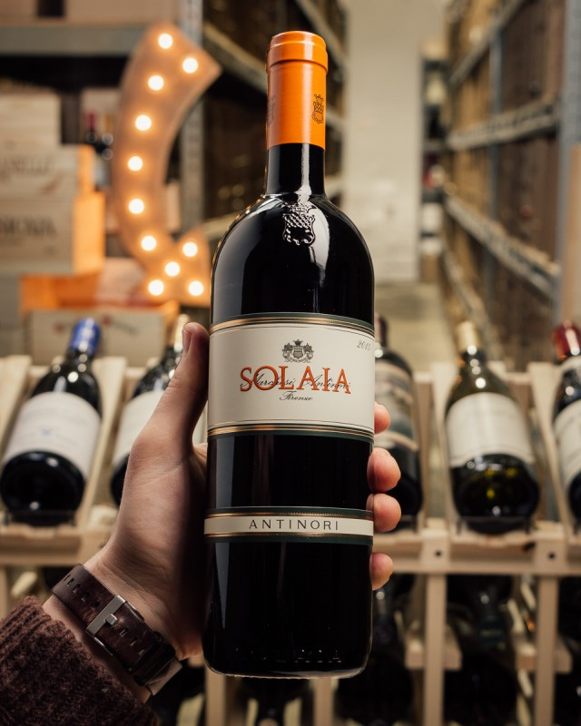 Antinori Solaia 2015  - First Bottle