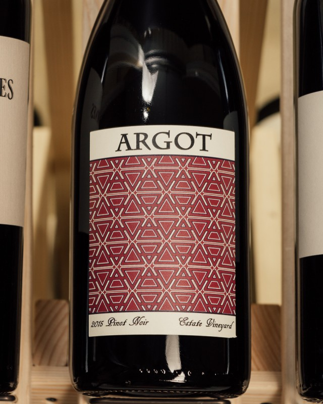Argot Pinot Noir Estate Sonoma Mountain 2015