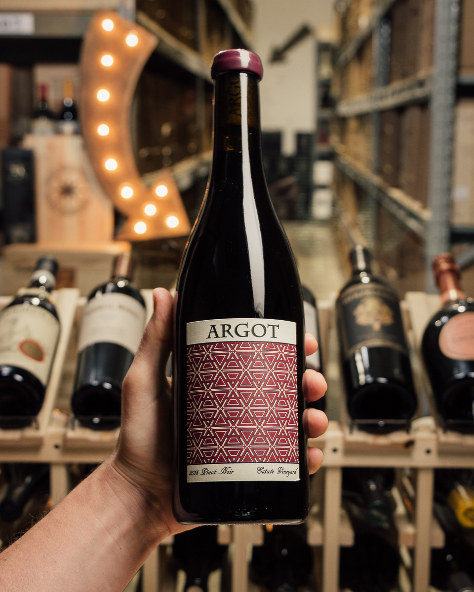 Argot Pinot Noir Estate Sonoma Mountain 2015  - First Bottle