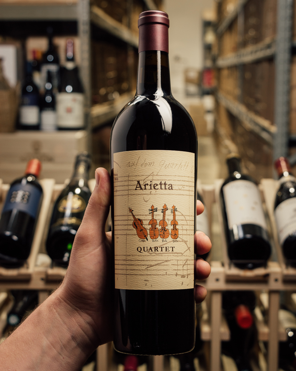 Arietta Proprietary Red Quartet 2015  - First Bottle