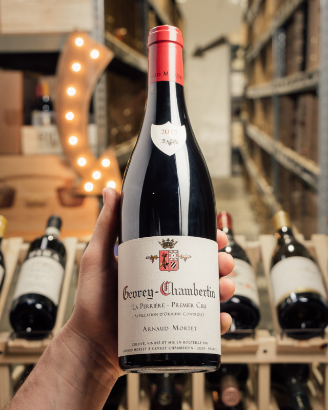 Arnaud Mortet Gevrey-Chambertin La Perriere 1er Cru 2017  - First Bottle