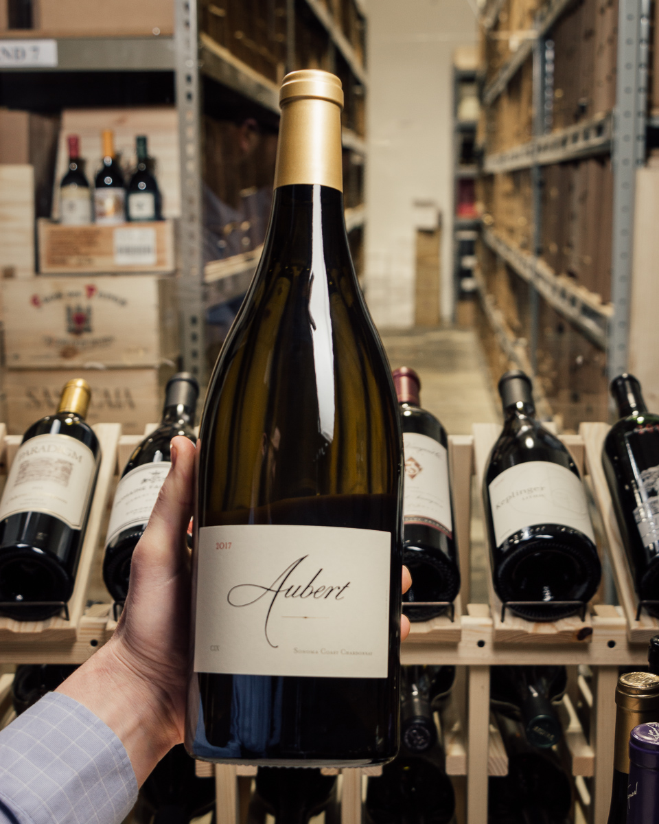 Aubert Chardonnay CIX 2017 (Magnum 1.5L)  - First Bottle