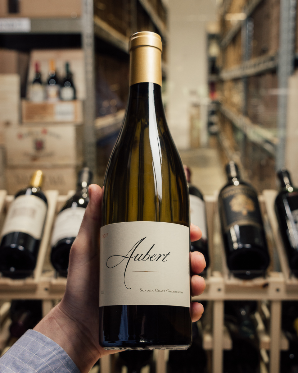 Aubert Chardonnay CIX 2017  - First Bottle