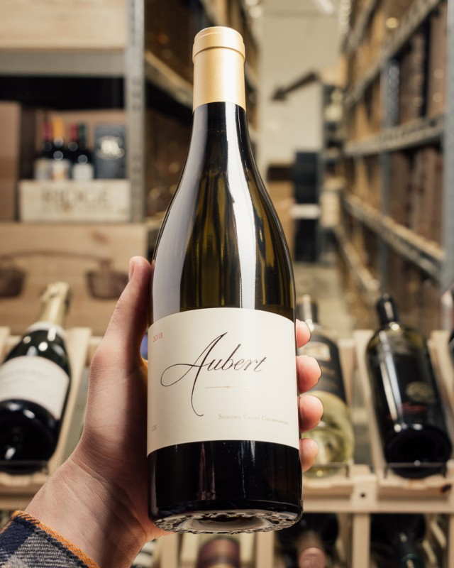Aubert Chardonnay CIX Sonoma Coast 2018  - First Bottle
