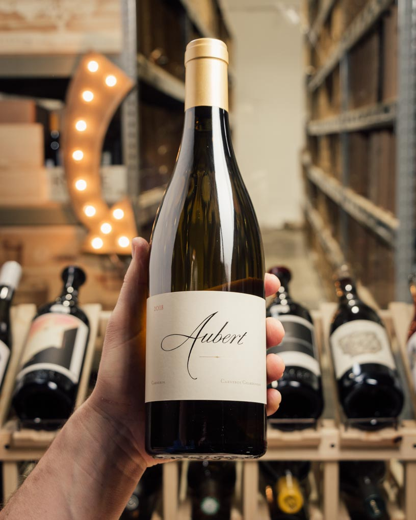 Aubert Chardonnay Carneros 2018  - First Bottle