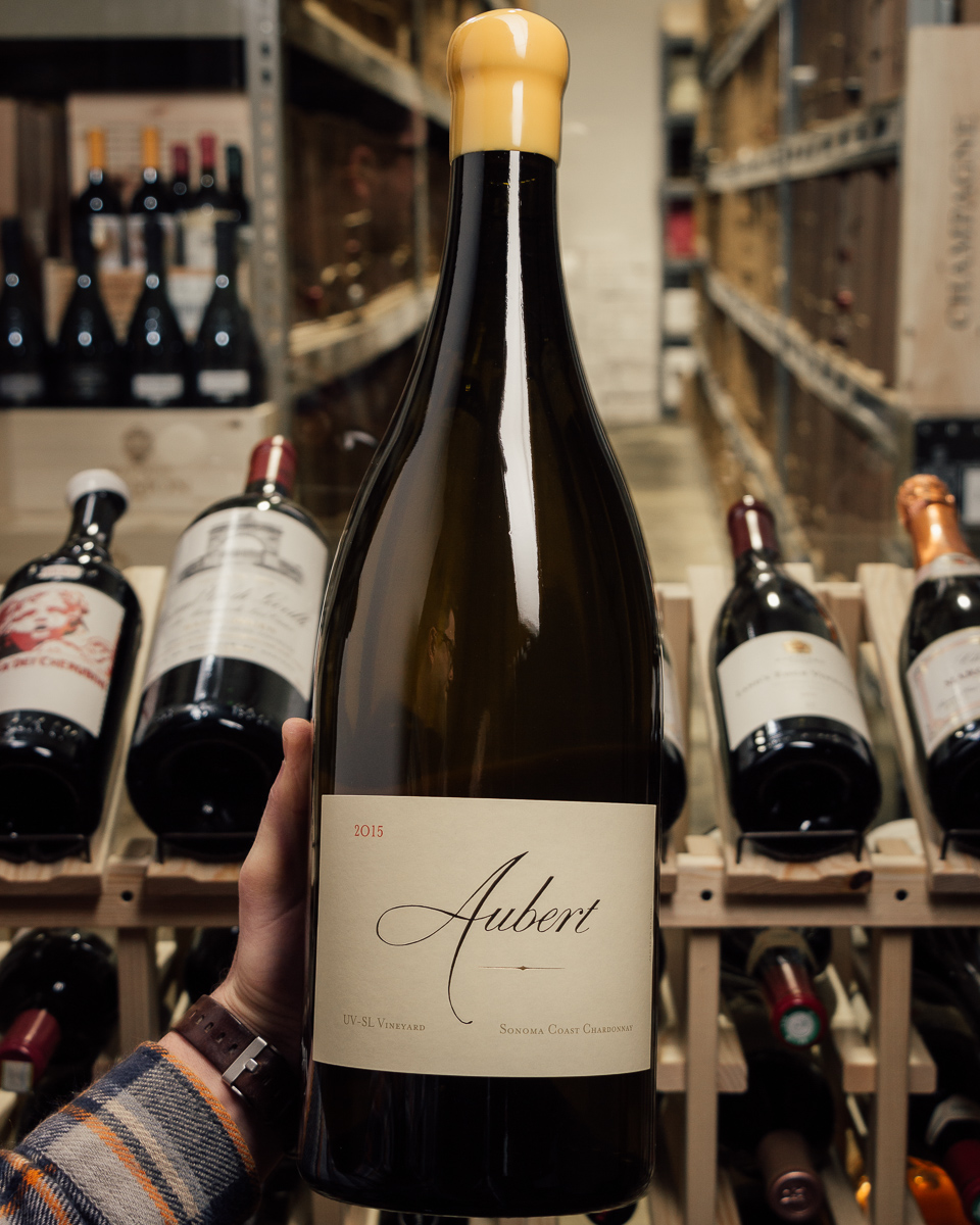 Aubert Chardonnay Carneros Hudson 2014 (Double Magnum 3L)  - First Bottle