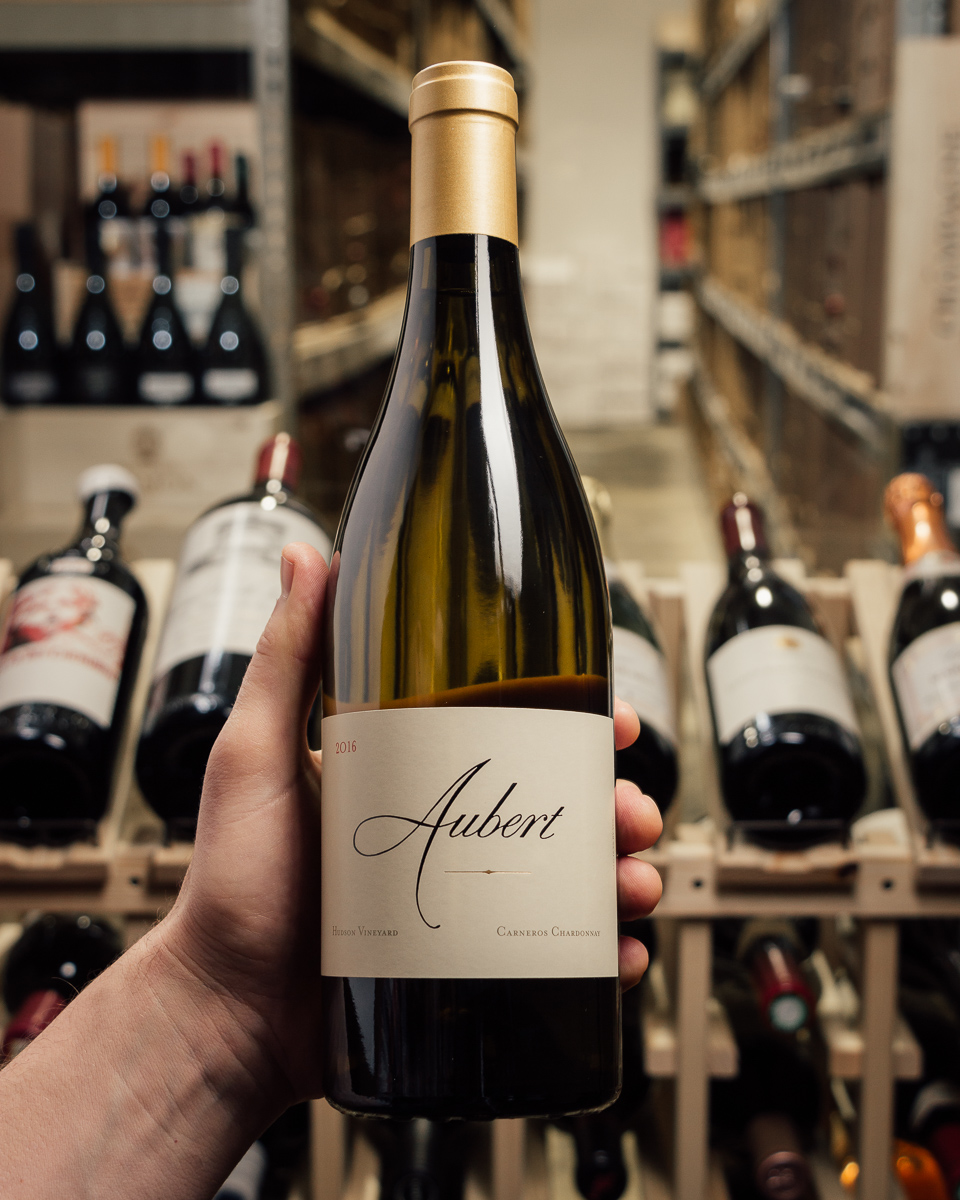 Aubert Chardonnay Carneros Hudson 2016  - First Bottle