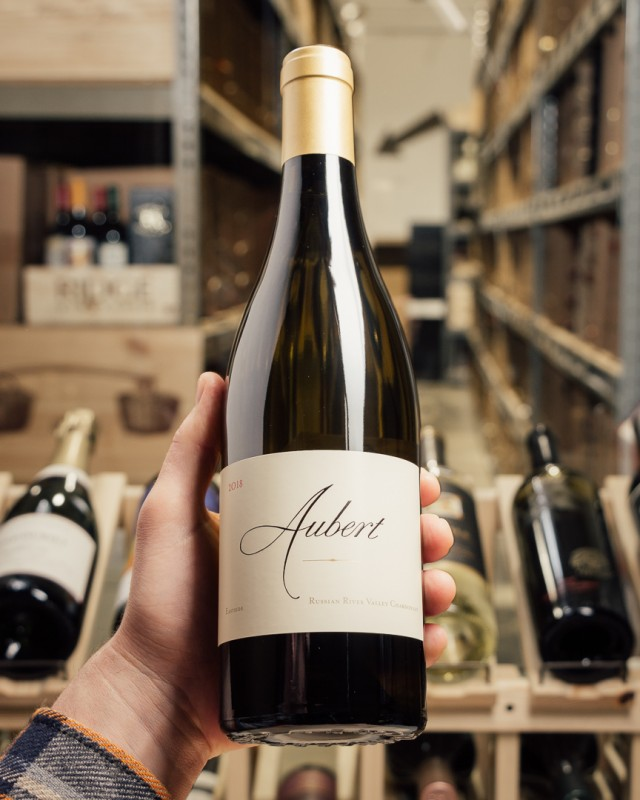 Aubert Chardonnay Eastside Russian River 2018  - First Bottle