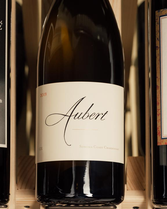 Aubert Chardonnay Estate CIX Vineyard Sonoma Coast 2019