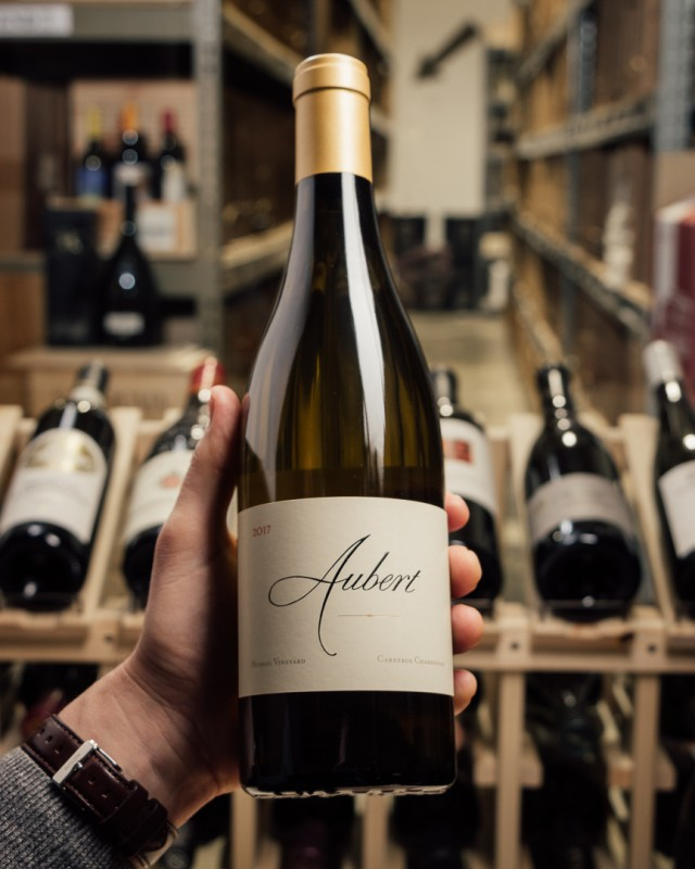Aubert Chardonnay Hudson Carneros 2017  - First Bottle