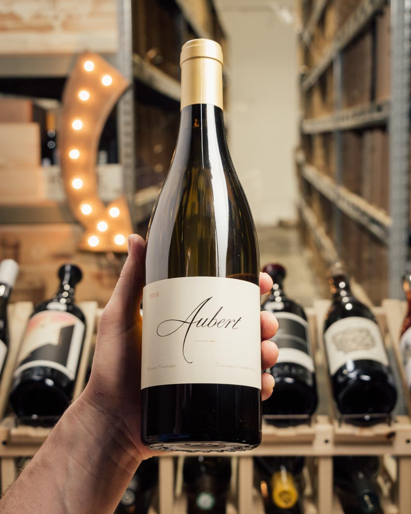 Aubert Chardonnay Hudson Vineyard Carneros 2018  - First Bottle