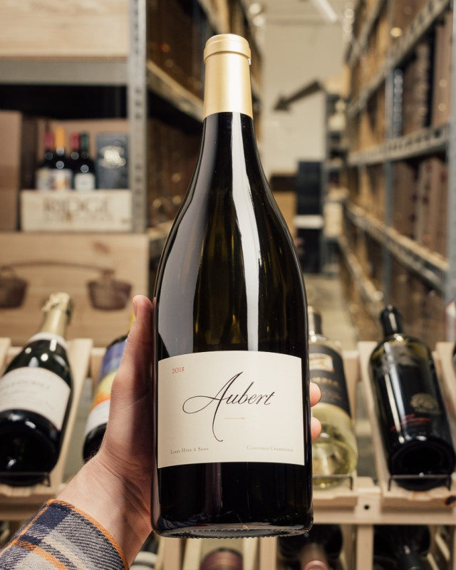 Aubert Chardonnay Hyde Carneros 2018 (Magnum 1.5L)  - First Bottle