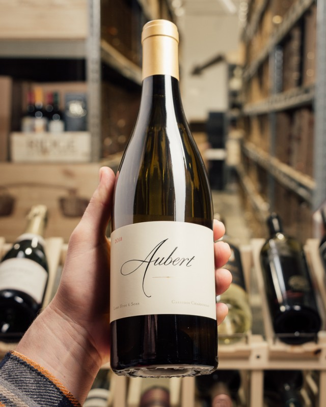 Aubert Chardonnay Hyde Carneros 2018  - First Bottle