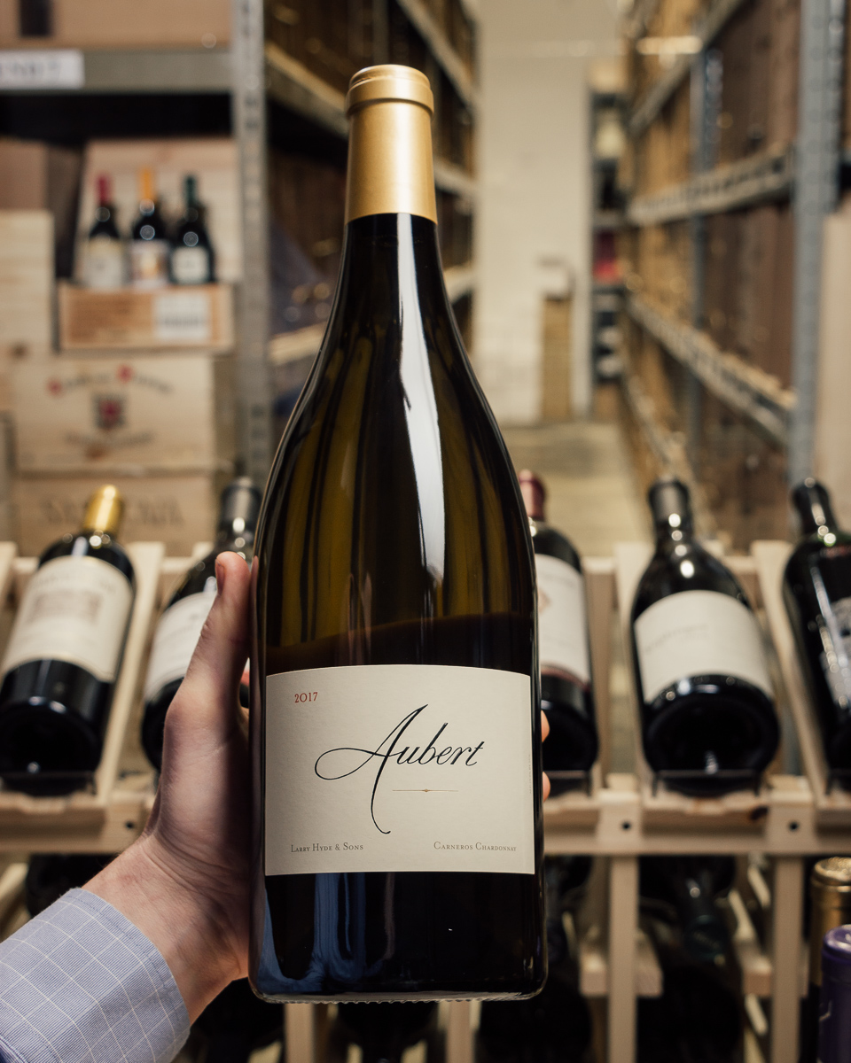 Aubert Chardonnay Larry Hyde & Sons 2017 (Magnum 1.5L)  - First Bottle