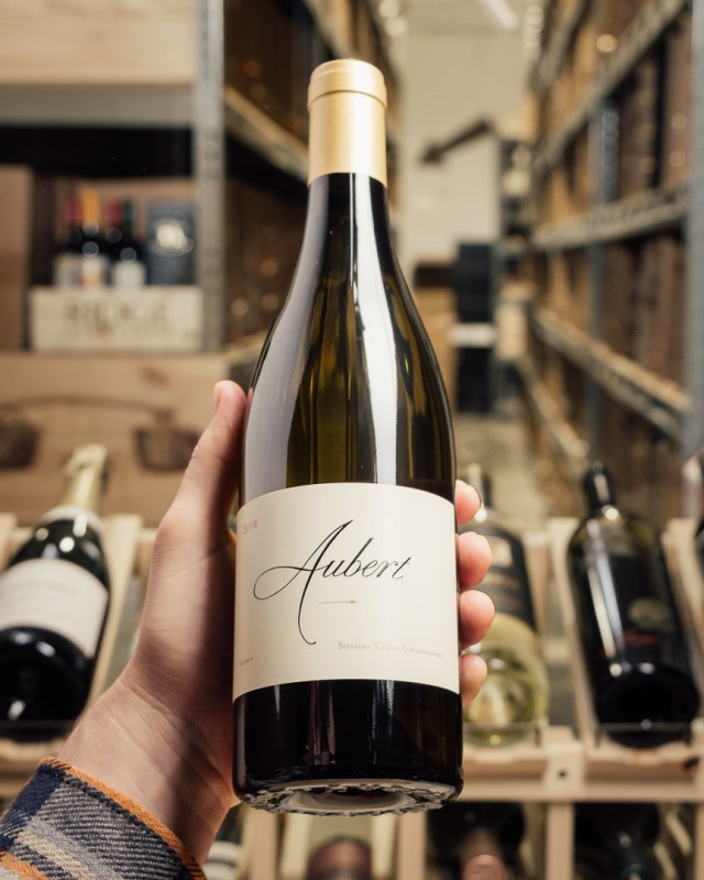 Aubert Chardonnay Lauren Estate Sonoma Coast 2018  - First Bottle