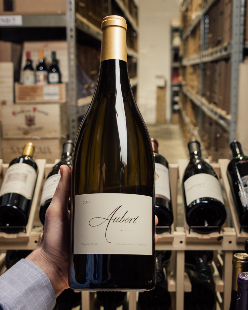 Aubert Chardonnay Powder House 2017 (Magnum 1.5L)  - First Bottle