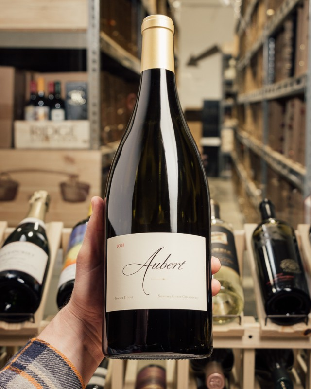 Aubert Chardonnay Powder House Somona Coast 2018 (Magnum 1.5L)  - First Bottle