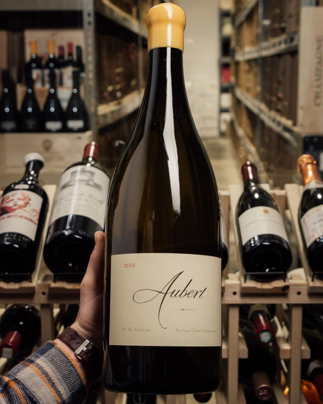 Aubert Chardonnay Sonoma Coast UV-SL 2015 (Double Magnum 3L)  - First Bottle
