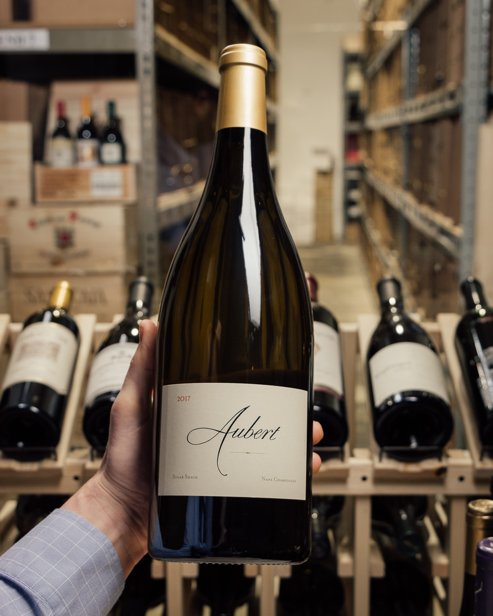 Aubert Chardonnay Sugar Shack 2017 (Magnum 1.5L)  - First Bottle