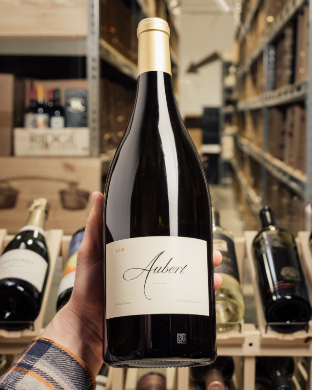 Aubert Chardonnay Sugar Shack Napa Valley 2018 (Magnum 1.5L)  - First Bottle