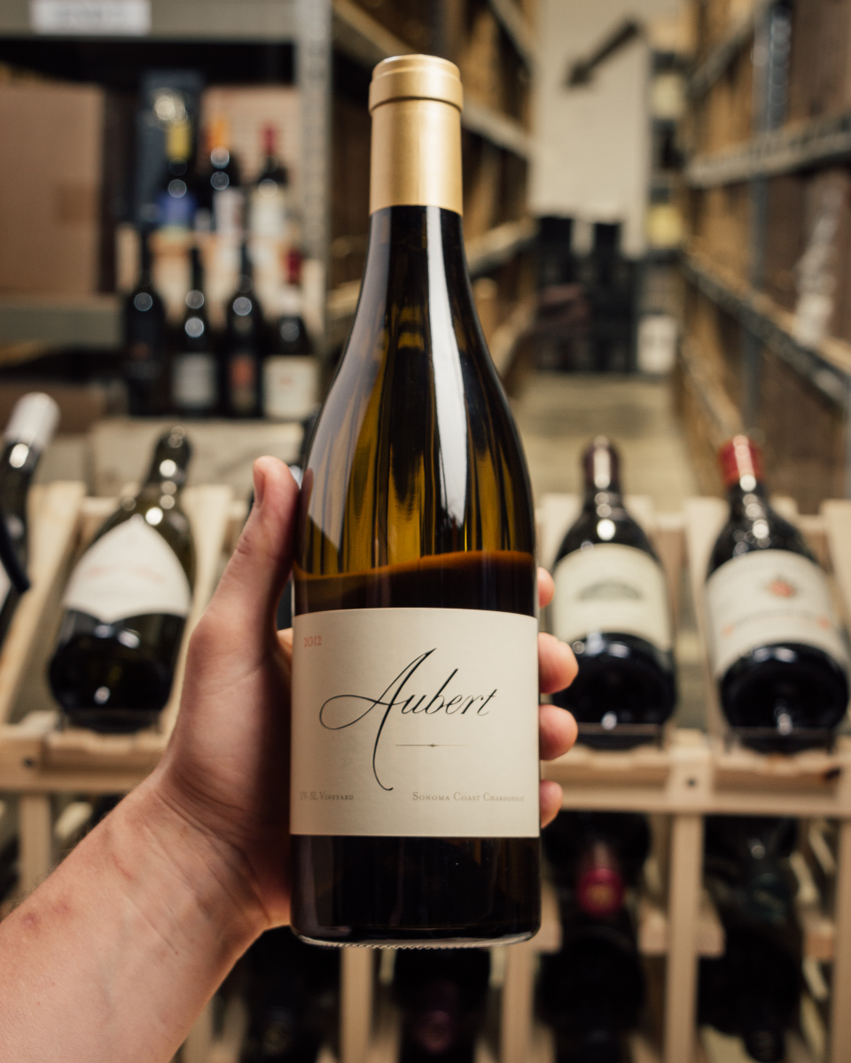Aubert Chardonnay UV-SL 2012  - First Bottle