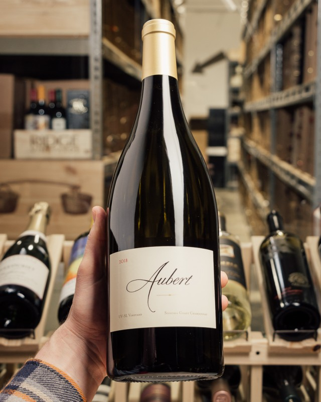 Aubert Chardonnay UV-SL Sonoma Coast 2018 (Magnum 1.5L)  - First Bottle