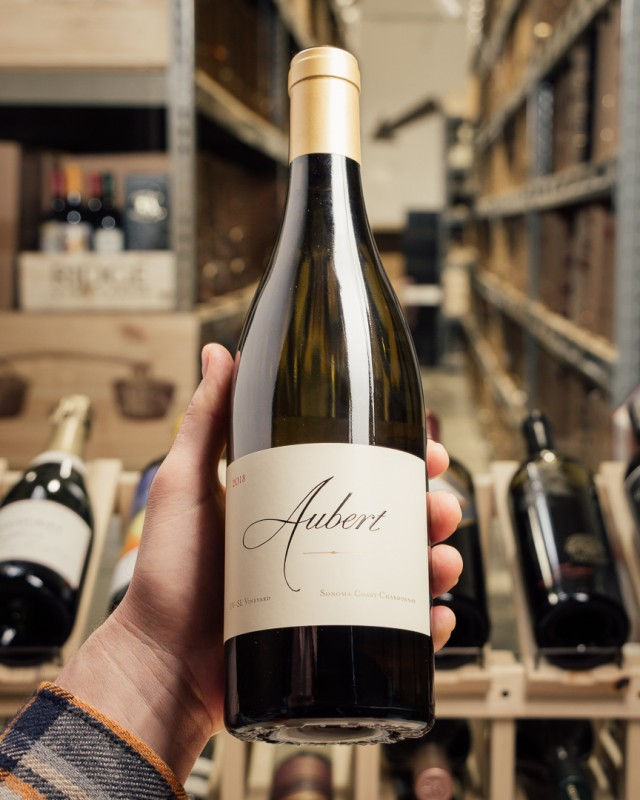 Aubert Chardonnay UV-SL Sonoma Coast 2018  - First Bottle